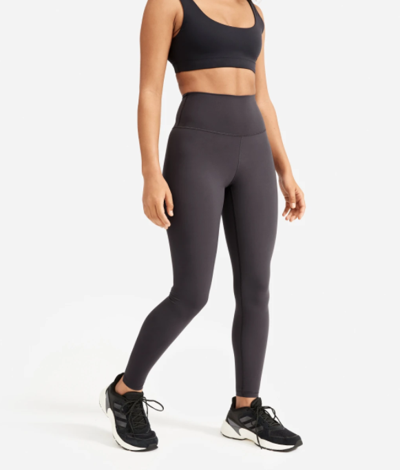 Everlane The Perform Legging in ink grey