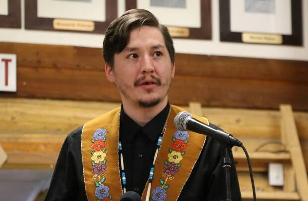 Dana Tizya-Tramm is the chief of the Vuntut Gwitchin First Nation in Yukon. 'Darius made me a better leader and a better person,' said Tizya-Tramm.