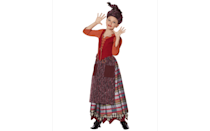 <p>This <span>Signature Collection Tween Mary Sanderson Costume</span> ($100) brings together a mishmash of patterns for the skirt and a bright orange top to create a costume that looks just like Mary.</p>