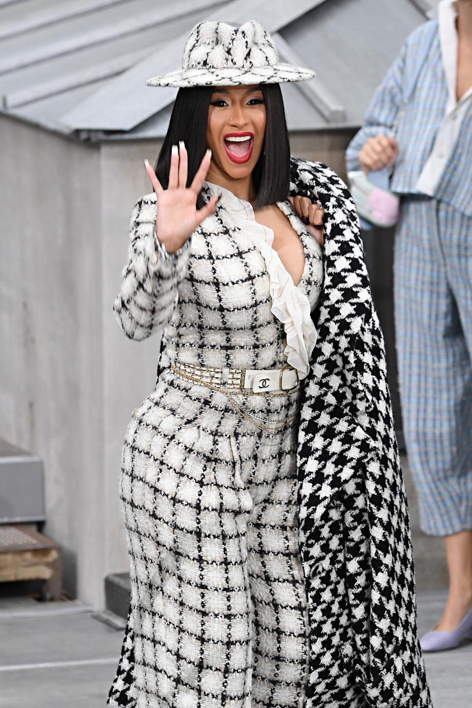 Cardi B is reportedly starting her own beauty brand. (Image via Getty Images)