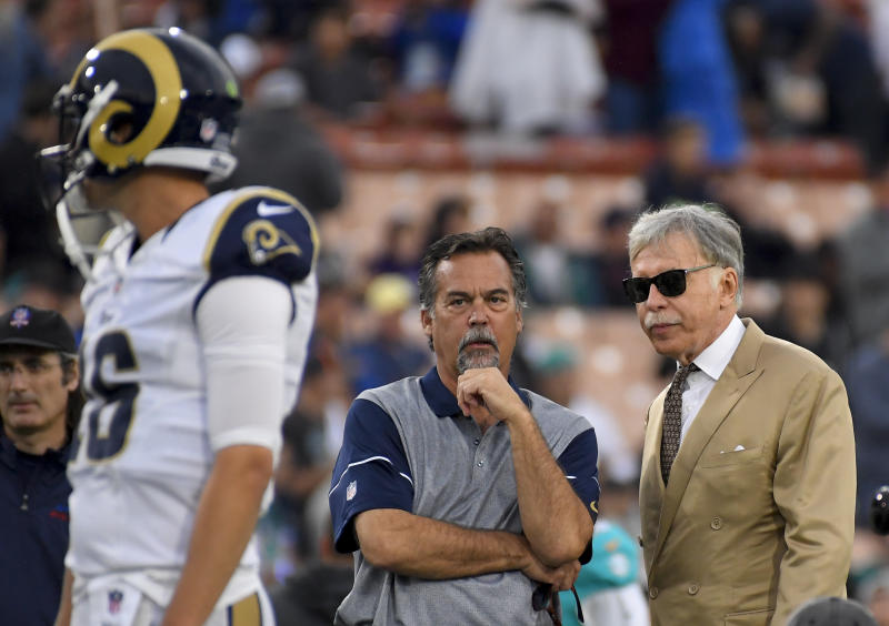 Fisher on Rams: I 'left them in pretty good shape'