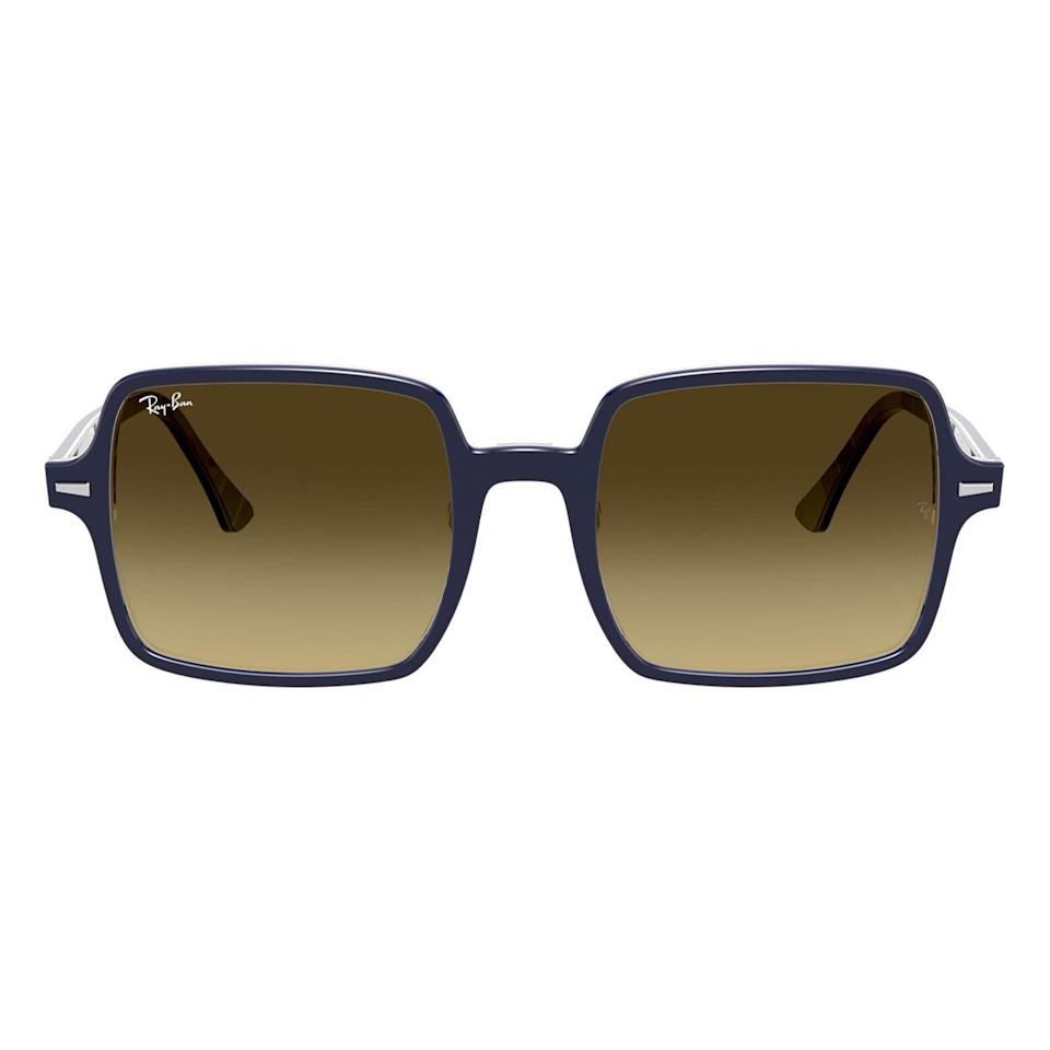 """<p><strong>Ray-Ban</strong></p><p>nordstrom.com</p><p><strong>$187.00</strong></p><p><a href=""""https://go.redirectingat.com?id=74968X1596630&url=https%3A%2F%2Fwww.nordstrom.com%2Fs%2Fray-ban-53mm-square-sunglasses%2F6128397&sref=https%3A%2F%2Fwww.esquire.com%2Fstyle%2Fmens-fashion%2Fg36561704%2Fbest-new-menswear-may-28-2021%2F"""" rel=""""nofollow noopener"""" target=""""_blank"""" data-ylk=""""slk:Shop Now"""" class=""""link rapid-noclick-resp"""">Shop Now</a></p><p>It's hip to be...<em>oh god, I'm sorry. Please forgive me. I didn't actually finish the phrase!</em></p>"""