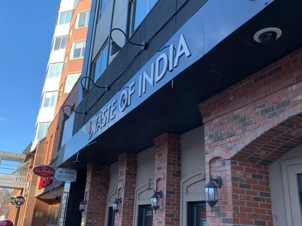 Taste of India restaurant on Kent Street in Charlottetown is listed as a potental COVID-19 exposure site.