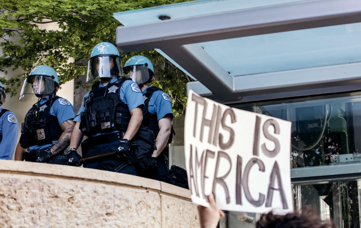 George Floyd Protests And Riots In Chicago (Jim Vondruska / NurPhoto via Getty Images file)