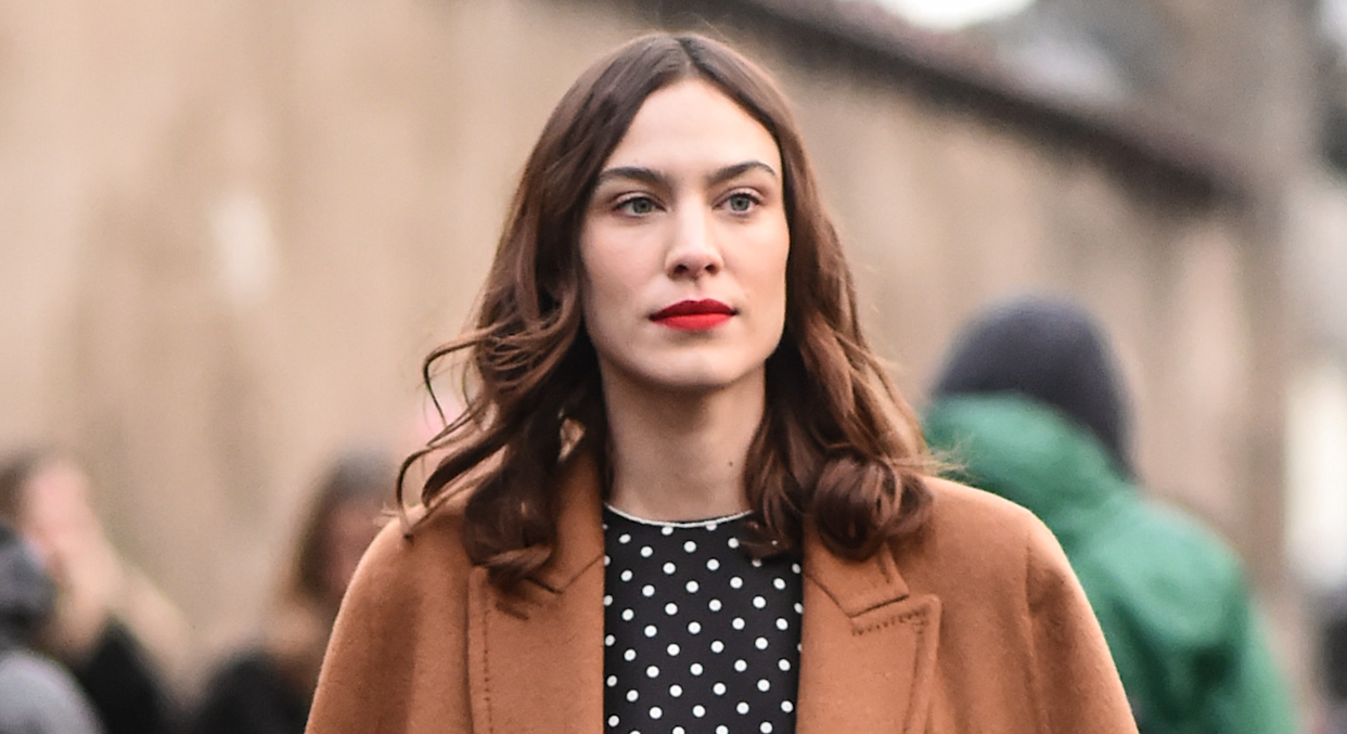 Alexa Chung has opened up about imposter syndrome struggles early on in her career. (Getty Images)