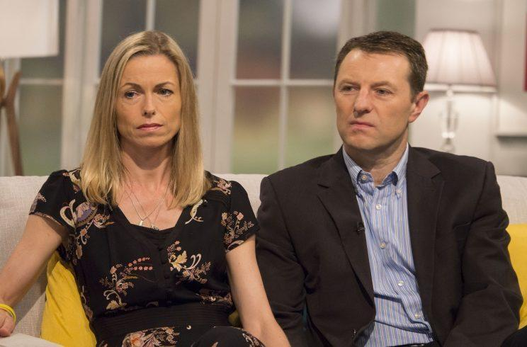 Kate and Gerry McCann have vowed to never give up looking for their daughter (Picture: REX/ITV)