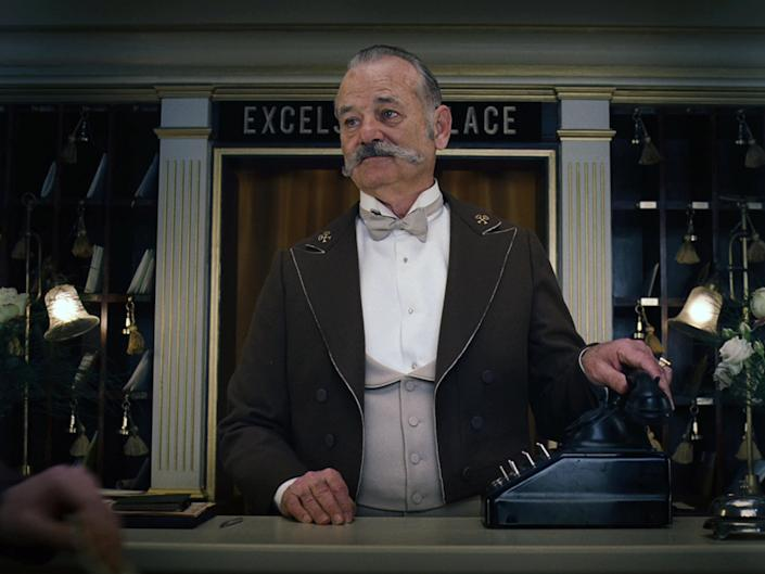 Murray in Wes Anderson's 'The Grand Budapest Hotel'20th Century Fox/Kobal/Rex
