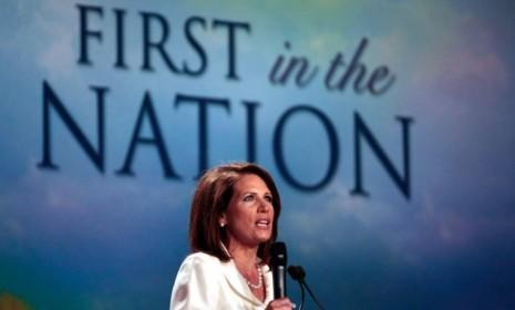 Rep. Michele Bachmann (R-Minn.) won last year's Iowa Straw Poll, but her time as a viable presidential candidate turned out to be shorter than a corn stalk in January.
