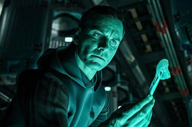 Michael Fassbender in 'Alien: Covenant'