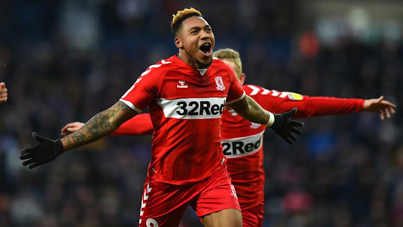 Britt Assombalonga scores 15th goal of the season as Middlesbrough edge Reading