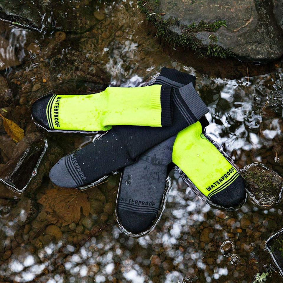 "<p>When I guided backpacking treks, I always told group to take care of the two most important things, ""Your feet, and your food."" In the regular world, most people eat plenty well, but too often they neglect the wellbeing of their feet. The easiest place to start? A great pair of socks.</p><p>            In my role as Field Editor, I am lucky enough to go out in the world to look for stories. Before I do, I make sure I have a good pair of socks on my feet, and a few extra pairs in my bag. And they're never cotton (if it gets wet, it'll never dry, it can't keep you warm). </p><p>I have my favorites, and they're all American made. When I reach in my sock drawer, here's what I go for:</p>"