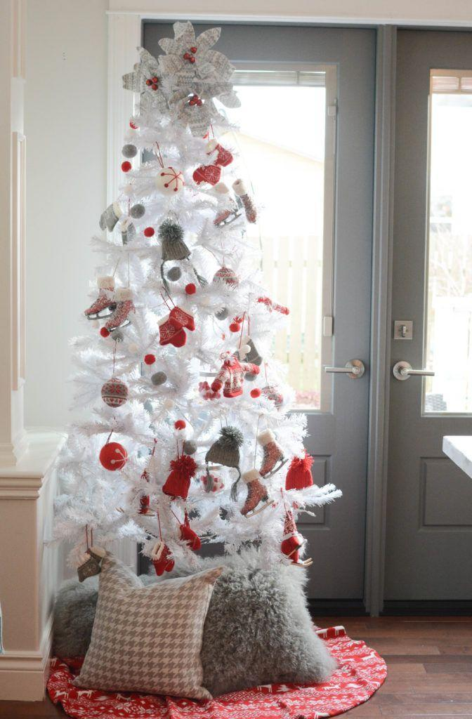 """<p>What could be more fun than a tree hung with mini sweaters, ice skates, and mittens?</p><p><strong><em>Get the tutorial at <a href=""""https://apopofpretty.com/nordic-christmas-style/"""" rel=""""nofollow noopener"""" target=""""_blank"""" data-ylk=""""slk:A Pop of Pretty"""" class=""""link rapid-noclick-resp"""">A Pop of Pretty</a>. </em></strong></p><p><a class=""""link rapid-noclick-resp"""" href=""""https://www.amazon.com/TRIEtree-Shatterproof-Decorations-Glittering-Decorative/dp/B07JV7JQW6?tag=syn-yahoo-20&ascsubtag=%5Bartid%7C10070.g.2025%5Bsrc%7Cyahoo-us"""" rel=""""nofollow noopener"""" target=""""_blank"""" data-ylk=""""slk:SHOP NORDIC ORNAMENTS"""">SHOP NORDIC ORNAMENTS</a></p>"""