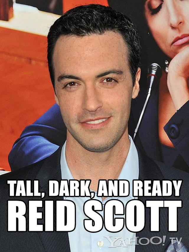 "<strong>Reid Scott<br><br></strong>You just can't peg this slippery Scott. He's a bro -- ""<a href=""http://tv.yahoo.com/shows/my-boys/"" data-ylk=""slk:My Boys"" class=""link rapid-noclick-resp"">My Boys</a>"" -- and you can play poker and pal around with him. But then he's in a white coat, hot-to-trot in the polite, healing sort of way -- ""<a href=""http://tv.yahoo.com/shows/the-big-c/"" data-ylk=""slk:The Big C"" class=""link rapid-noclick-resp"">The Big C</a>"" -- and then he's on ""<a href=""http://tv.yahoo.com/shows/veep/"" data-ylk=""slk:Veep"" class=""link rapid-noclick-resp"">Veep</a>"" in a tailored suit being a know-it-all guy you <em>wish</em> you could hate but you just. Simply. Can't. Reid melts our brain. He's the human equivalent of a fresh quart of ice cream in your freezer after you just ate a cheeseburger and skipped the gym and all you wanna do is gorge on cookie dough and decide whether your meet-cute with him will happen at Baskin-Robbins or Ben & Jerry's."