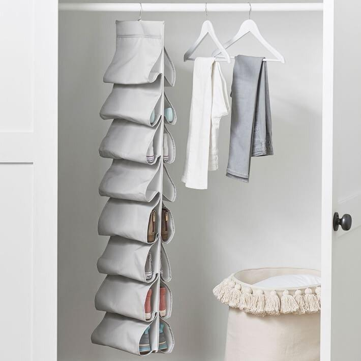 Pottery Barn Teen Recycled Side Sling Shoe Storage