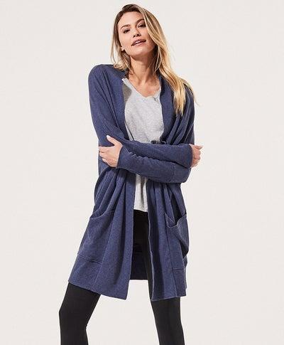 """<h2>Pact Airplane Cardigan<br></h2><br><br>No one rocks a comfy longline cardigan like your mom, and Pact's organic cotton, summerweight iteration will definitely pass muster in her tightly edited rotation. <br><br><em>Shop <strong><a href=""""https://wearpact.com/"""" rel=""""nofollow noopener"""" target=""""_blank"""" data-ylk=""""slk:Pact"""" class=""""link rapid-noclick-resp"""">Pact</a></strong></em><br><br><strong>PACT</strong> Airplane Cardigan, $, available at <a href=""""https://go.skimresources.com/?id=30283X879131&url=https%3A%2F%2Fwearpact.com%2Fwomen%2Fapparel%2Fhoodies%2520%26%2520sweatshirts%2Fairplane%2520cardigan%2Fwa1-wac-nah"""" rel=""""nofollow noopener"""" target=""""_blank"""" data-ylk=""""slk:PACT"""" class=""""link rapid-noclick-resp"""">PACT</a>"""