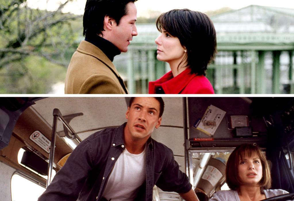 """Keanu Reeves & Sandra Bullock:<br><a href=""""http://movies.yahoo.com/movie/the-lake-house/"""">The Lake House</a> (2006)<br>Speed (1994)"""