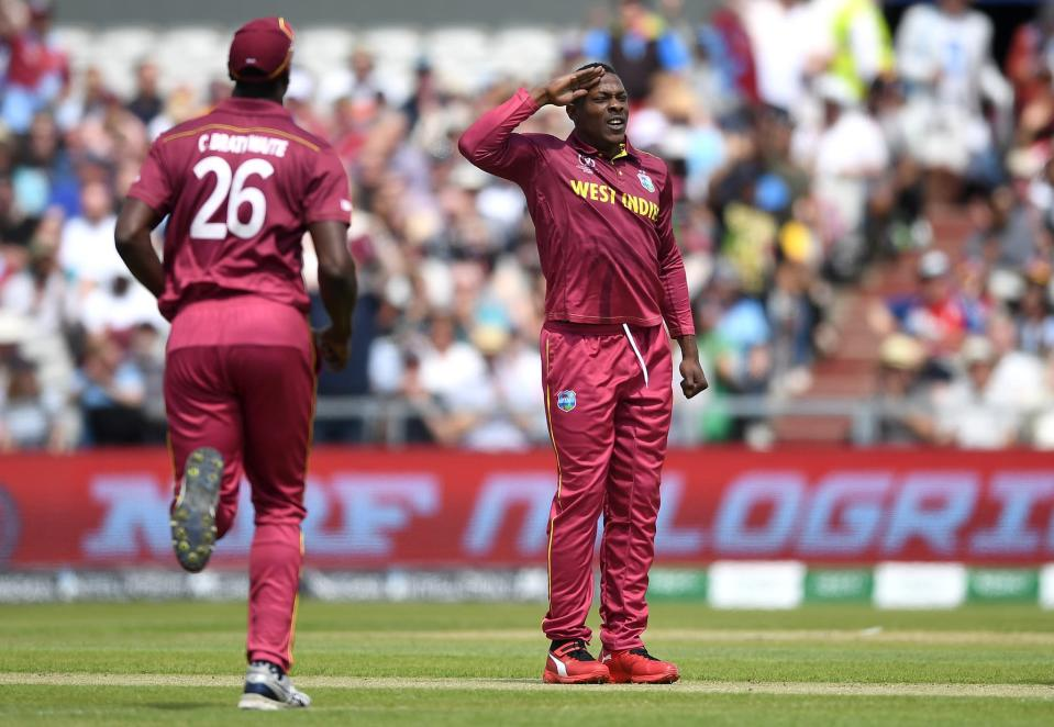 Sheldon Cottrell was West Indies' highest-wickettaker in this WC, finishing with 12 scalps in 9 games.
