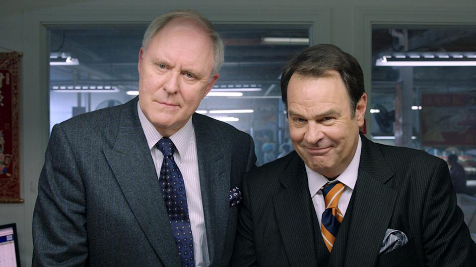 """John Lithgow and Dan Aykroyd in Warner Bros. Pictures' """"The Campaign"""" - 2012"""