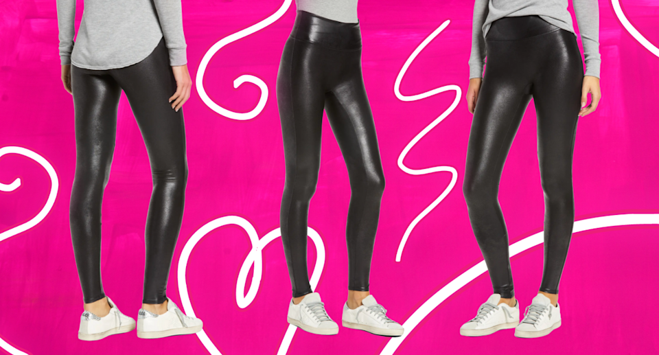 'They make my 'spare tire' disappear': these Spanx leggings are 30% off in the Nordstrom Anniversary Sale (Photo via Nordstrom)'They make my 'spare tire' disappear': these Spanx leggings are 30% off in the Nordstrom Anniversary Sale (Photo via Nordstrom)