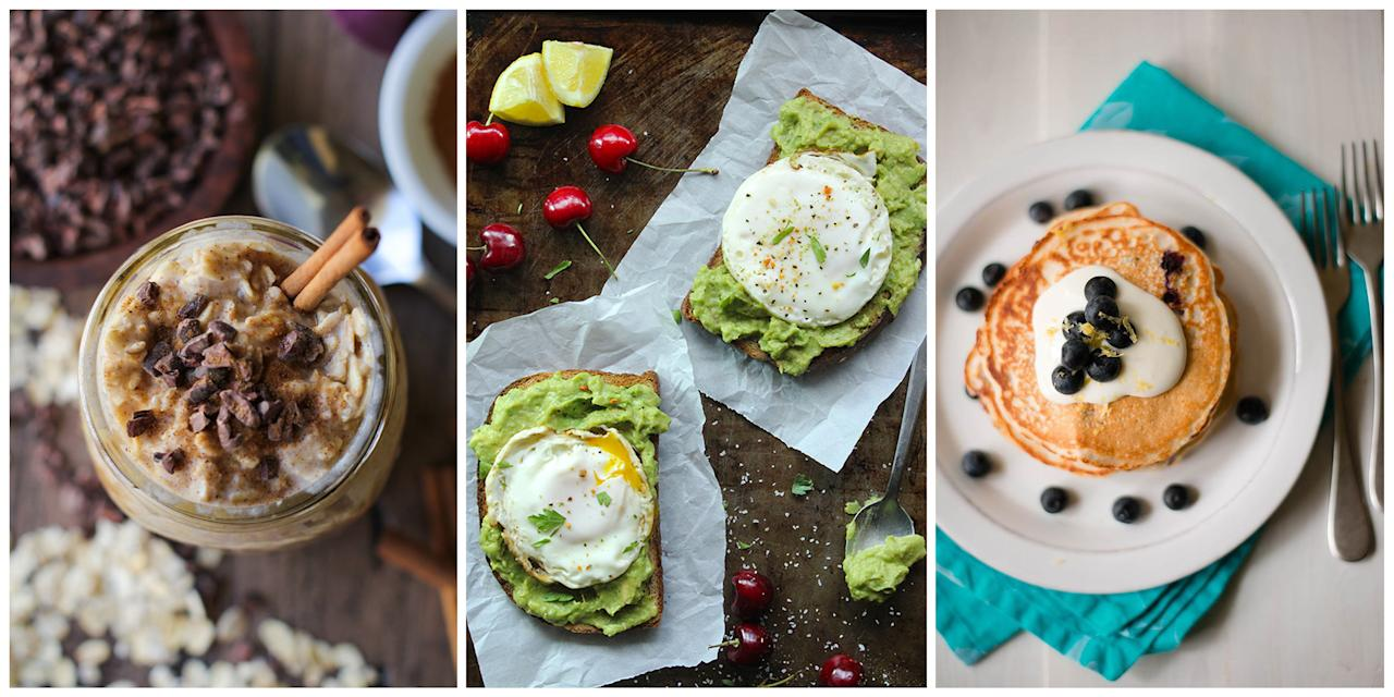 <p>There's one secret that will ensure your stomach doesn't start growling hours before lunchtime: eating a high-protein breakfast. And not just eggs, either! These easy-to-make recipes will keep your stomach happy all morning long <em>and</em> <span>set you up for a day of healthy eating afterward.</span></p>