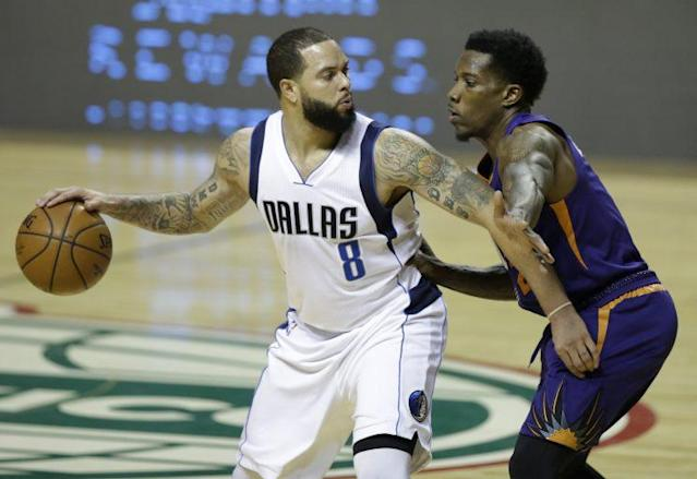 Deron Williams played 40 games for the Mavs this season. (AP)