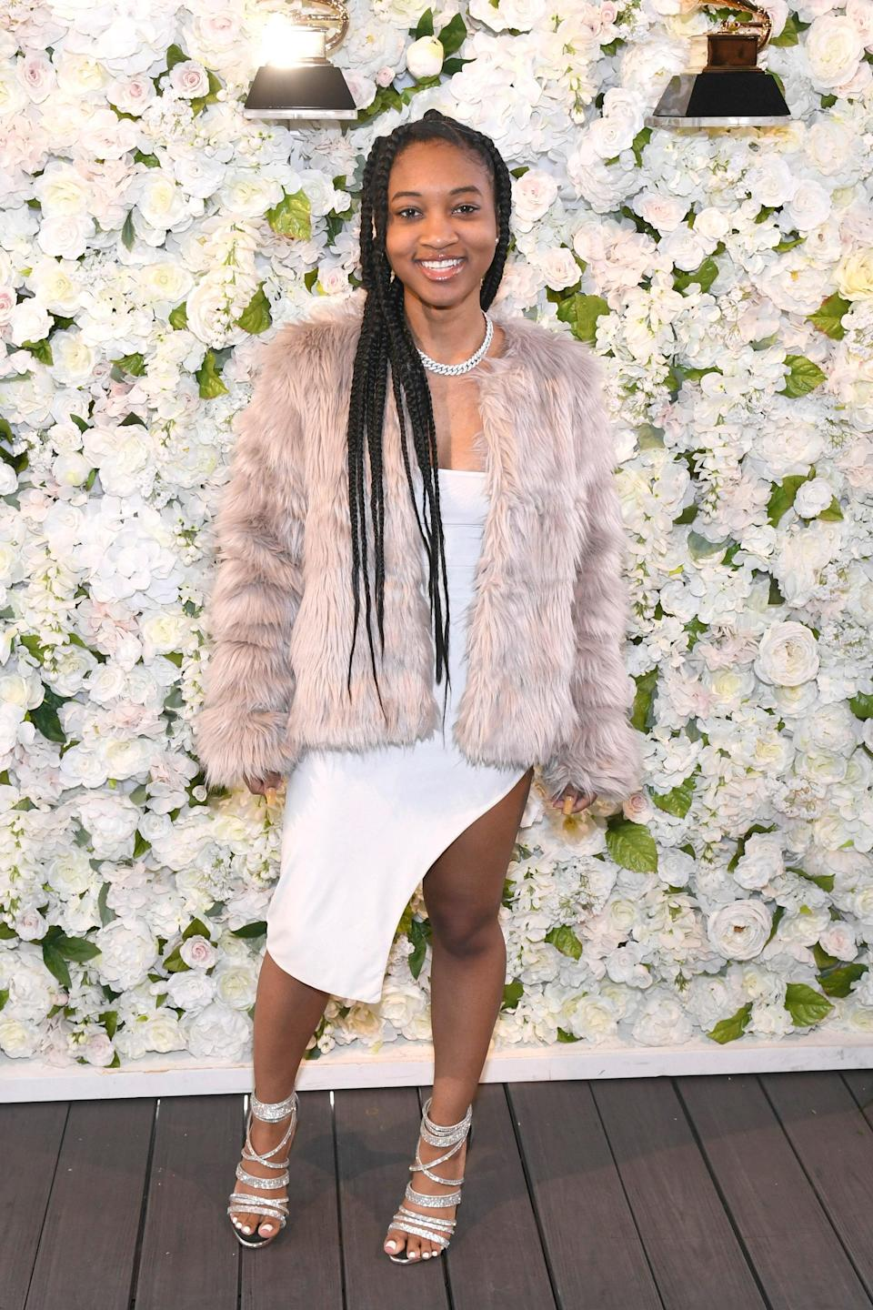 """<h1 class=""""title"""">LAC's 62nd GRAMMY Nominee Celebration</h1> <div class=""""caption""""> Nija at the Grammy nominee luncheon in January 2020 </div> <cite class=""""credit"""">Getty Images</cite>"""