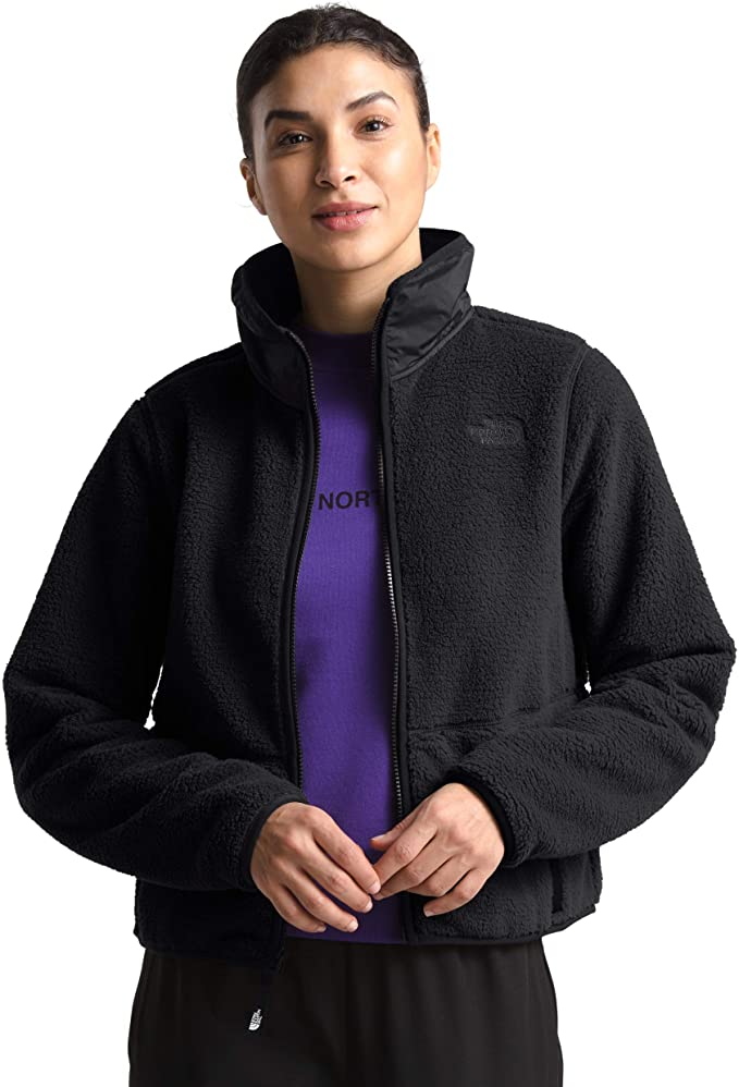"""<br><br><strong>The North Face</strong> Dunraven Sherpa Crop, $, available at <a href=""""https://amzn.to/39u2HUw"""" rel=""""nofollow noopener"""" target=""""_blank"""" data-ylk=""""slk:Amazon"""" class=""""link rapid-noclick-resp"""">Amazon</a>"""