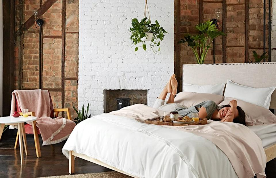 "Amazon's not the only place to get a good mattress deal this Prime Day. Check out these other mattress sales, like <a href=""https://fave.co/3nzXVem"" target=""_blank"" rel=""noopener noreferrer"">Allswell's 15% off the Luxe and Supreme mattresses</a> with code <strong>FALLFAVES</strong>.  (Photo: Allswell)"
