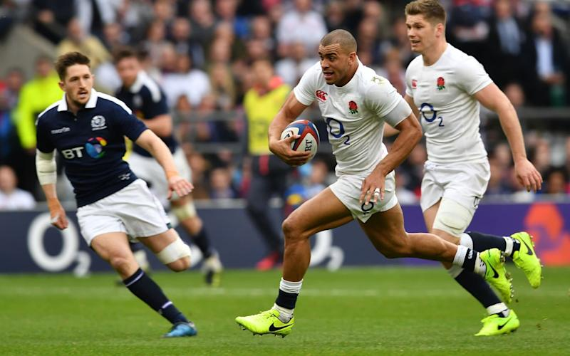 England will play Scotland at Murrayfield in 2018 - AFP