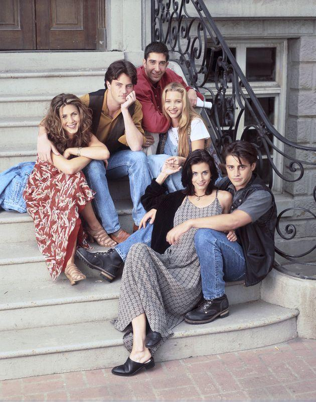 The cast of Friends pictured in 1994 (Photo: NBC via Getty Images)