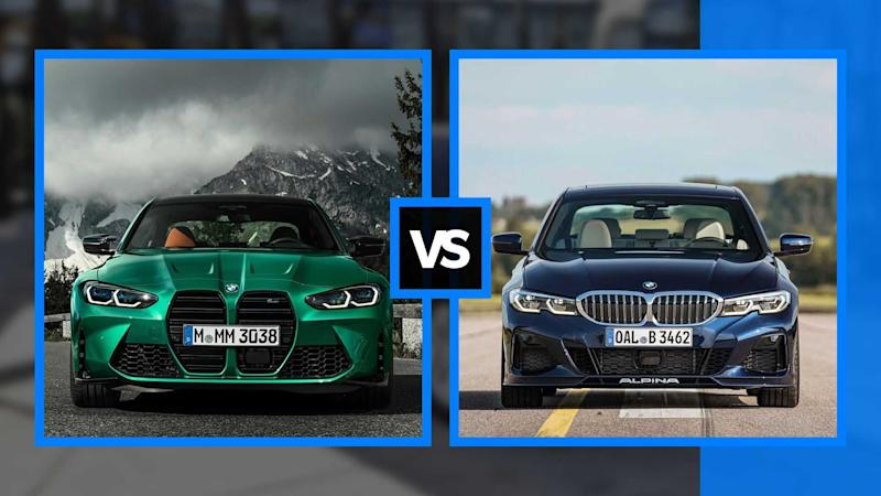 BMW M3 vs Alpina B3