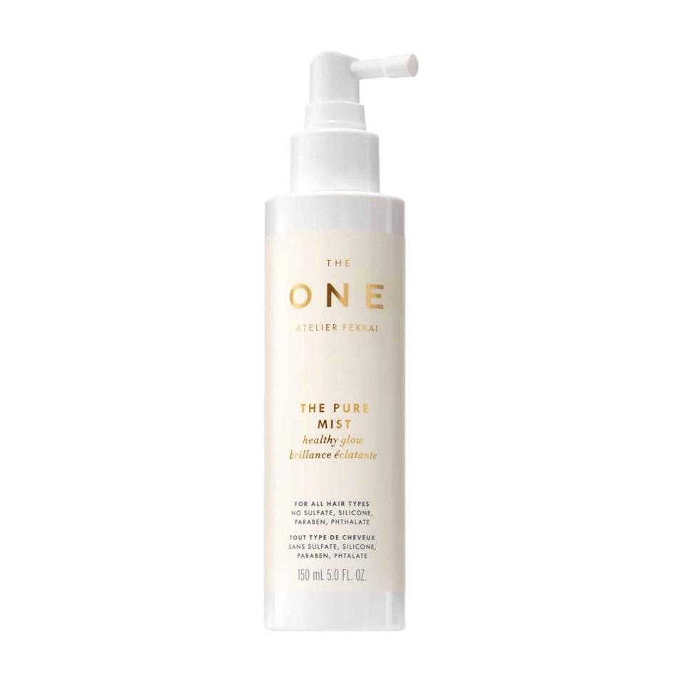 """<p>The Pure Mist, part of Frederic Fekkai's first <a href=""""https://www.allure.com/story/frederic-fekkai-the-one-pure-hair-care-collection?mbid=synd_yahoo_rss"""">95 percent natural collection of hair-care products</a>, is proof of just how useful botanical oils and extracts can be in defending hair from UV damage. This formula relies on coconut and jojoba oils as well as aloe and shea butter to not only keep hair safer in the sun but also to protect it from heat-damaging tools.</p> <p><strong>$26</strong> (<a href=""""https://shop-links.co/1709935576253716195"""" rel=""""nofollow"""">Shop Now</a>)</p>"""