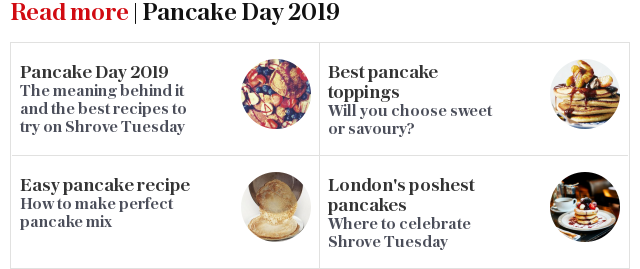 Read more | Pancake Day