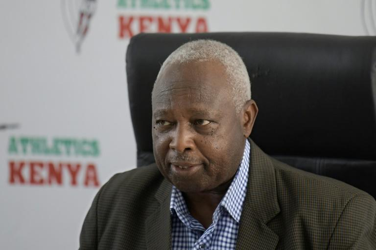 Athletics Kenya president Jackson Tuwei said Tirop's death was a 'huge blow' to athletics, describing her as 'one of the fastest rising stars' and voicing hope for speedy justice (AFP/Tony KARUMBA)