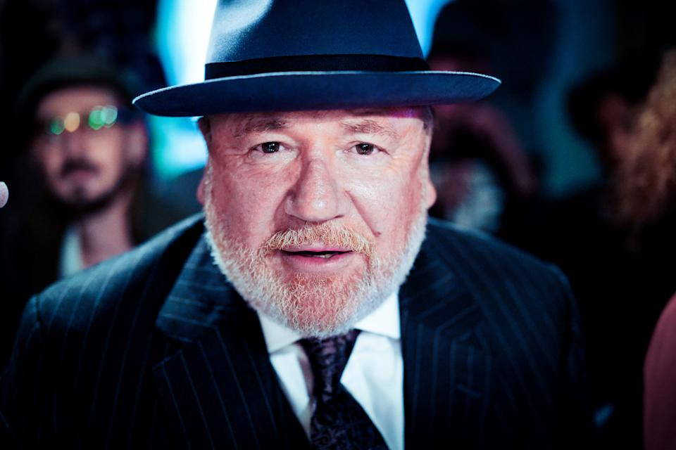 LONDON, ENGLAND - SEPTEMBER 14:  (EDITORS NOTE: This image was processed using digital filters) Ray Winstone attends the Pam Hogg Show during London Fashion Week September 2018 at Freemasons Hall on September 14, 2018 in London, England. (Photo by Ki Price/WireImage)