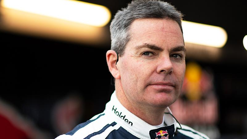 Craig Lowndes, pictured during a stint with Red Bull Racing, says DJR Team Penske should have been more heavily penalised.
