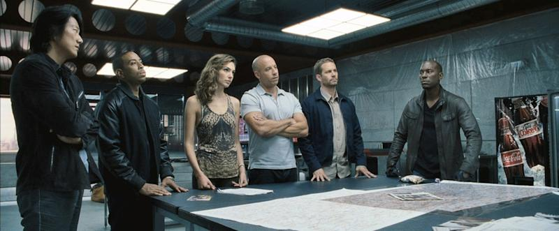 """The crew fraom """"Fast & Furious 6"""""""