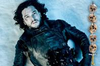 """<p>The great """"<a rel=""""nofollow"""" href=""""https://www.yahoo.com/tv/game-of-thrones-season-6-trailer-211205080.html"""" data-ylk=""""slk:Is he dead or isn't he;outcm:mb_qualified_link;_E:mb_qualified_link;ct:story;"""" class=""""link rapid-noclick-resp yahoo-link"""">Is he dead or isn't he</a>?"""" debate that's raged since the conclusion of last season (as well as the final pages of George R.R. Martin's last book, <i>A Dance With Dragons</i>) will finally be resolved. And we're expecting the answer to be a firm, """"Yes, but…"""" Even if he does clamber out of the grave, though, there's a strong chance that he won't be the Jon Snow we remember. That Jon is dead; long live the new Jon. (We hope.)</p><p><i>(Credit: Helen Sloa/HBO)</i></p>"""