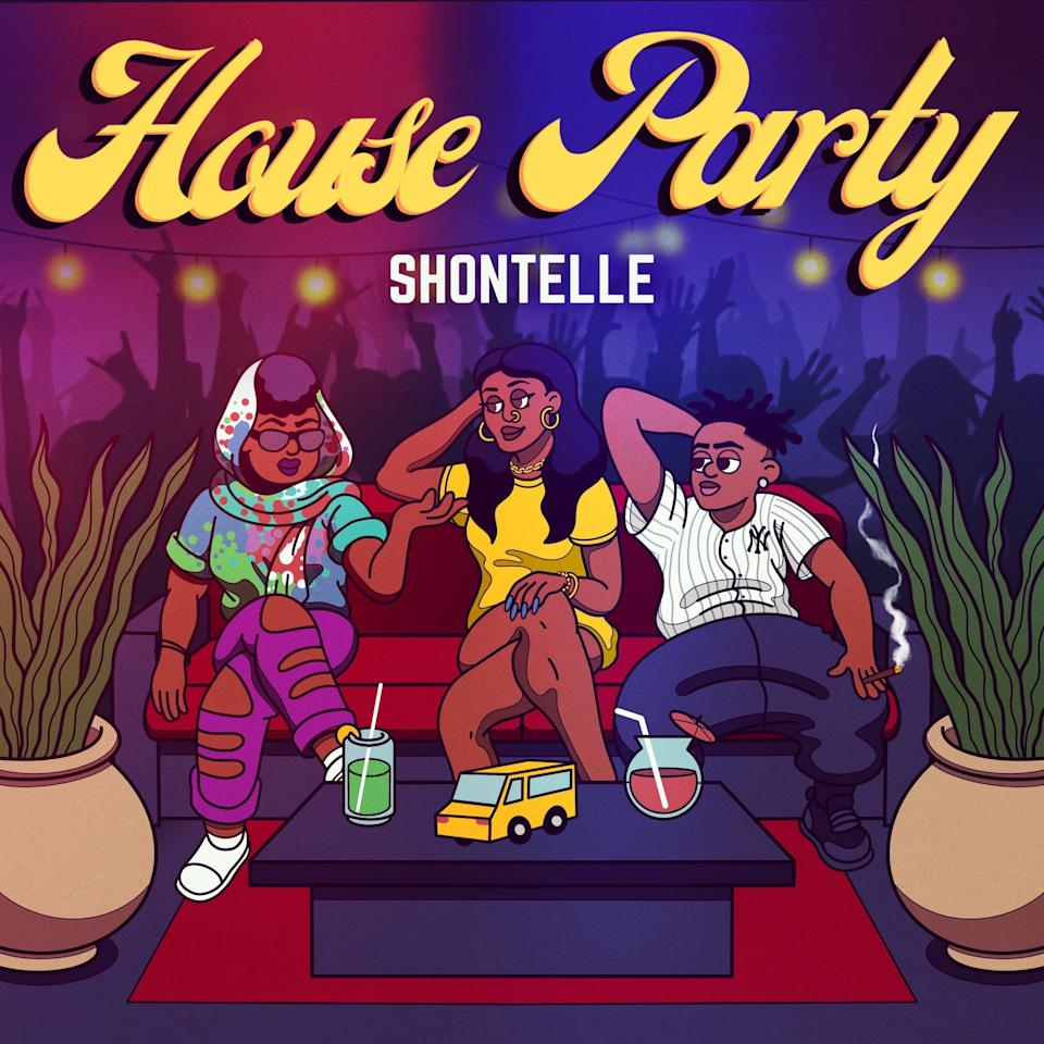 """Winners of an online auction will get their name mentioned in the upcoming single """"House Party,"""" from Barbadian singer Shontelle. Other auction winners get their likenesses inserted into the cover art, which the singer will autograph."""
