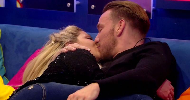 Jamie and Bianca shared plenty of steamy moments in the house (Copyright: REX/Shutterstock)