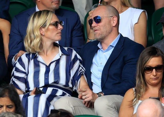 Tindall is married to the Queen's grand daughter Zara. Adam Davy/PA Wire