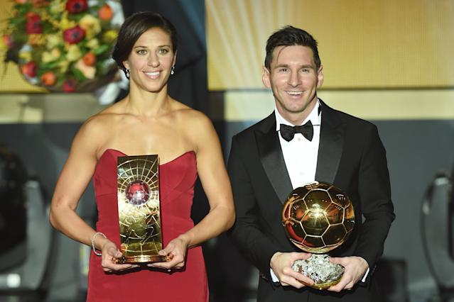Messi wins fifth FIFA Ballon d'Or to cement place as greatest player ever
