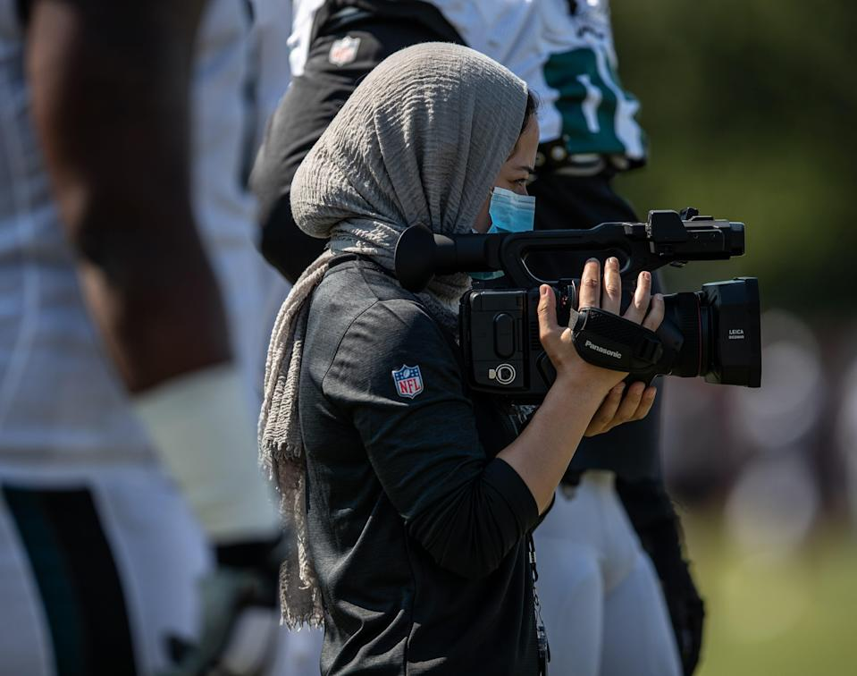 Thursday, entering her fourth season with the club, Philadelphia promoted Ameena Soliman for a third time — to pro scout.