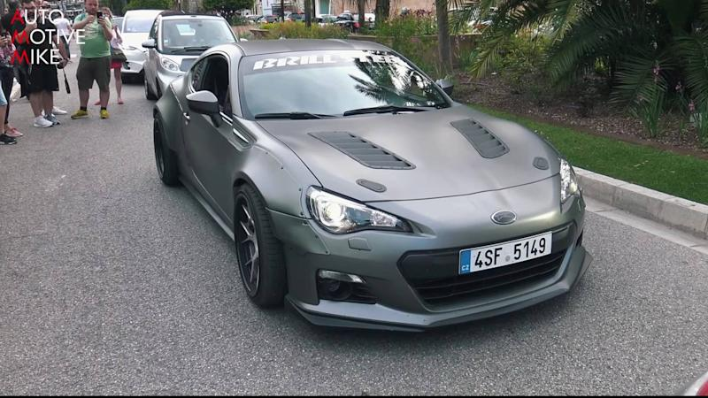 widebody subaru brz with ls3 v8 engine is over the top tuning. Black Bedroom Furniture Sets. Home Design Ideas
