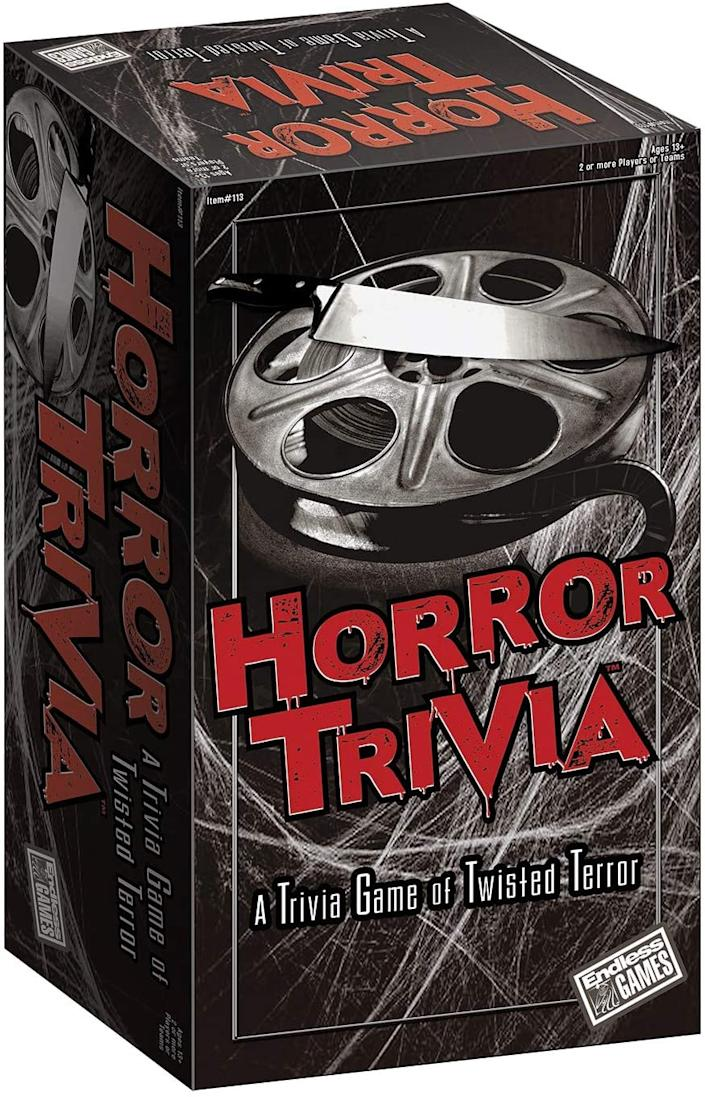 Test your horror genre knowledge this Halloween.