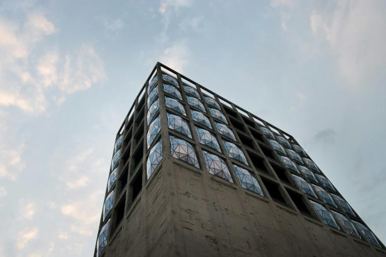 The Zeitz Museum is a former grain silo converted to premium gallery space at a cost of 31 million euros ($37 million)