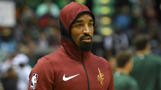 "<a class=""link rapid-noclick-resp"" href=""/nba/players/3835/"" data-ylk=""slk:J.R. Smith"">J.R. Smith</a> and Stephen A. Smith's beef began with a rant about hoodies. No, seriously."