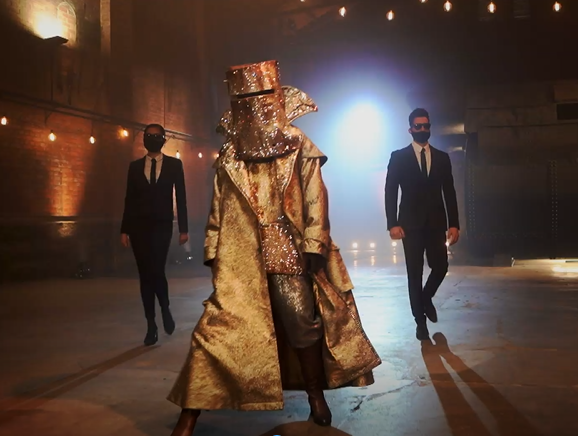 The Bushranger on The Masked Singer 2020.