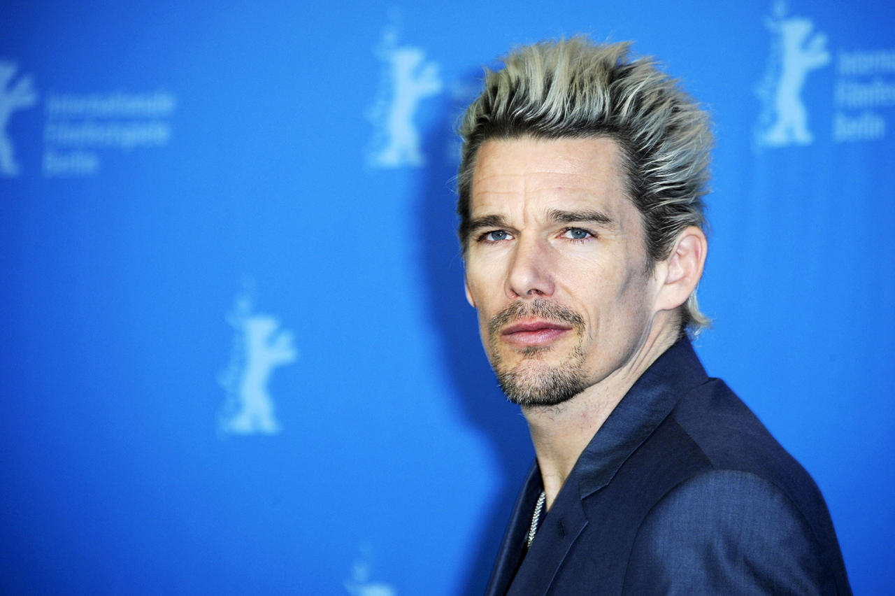 Ethan Hawke attends the 'Before Midnight' Photocall during the 63rd Berlinale International Film Festival at the Grand Hyatt Hotel on February 11, 2013 in Berlin, Germany.