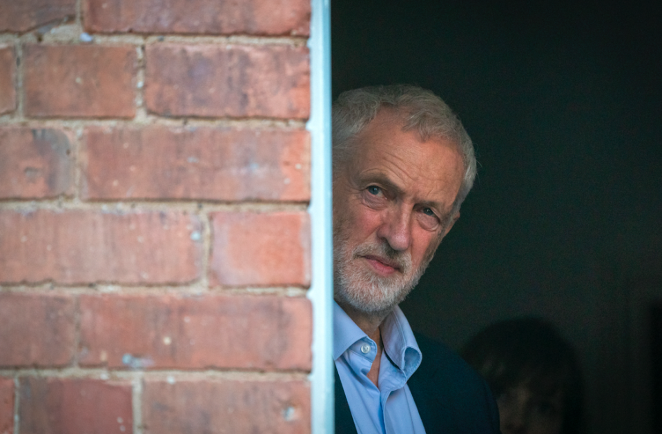 <em>Jeremy Corbyn insists he is tackling anti-Semitism in the Labour party (Getty)</em>